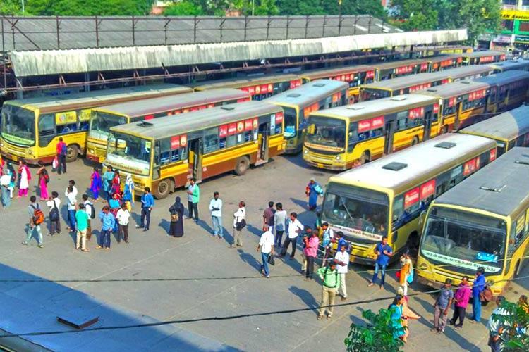 Bus drivers go on strike in Chennai