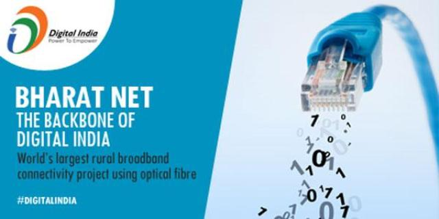 Govt to provide broadband connectivity under BharatNet project to all gram panchayats