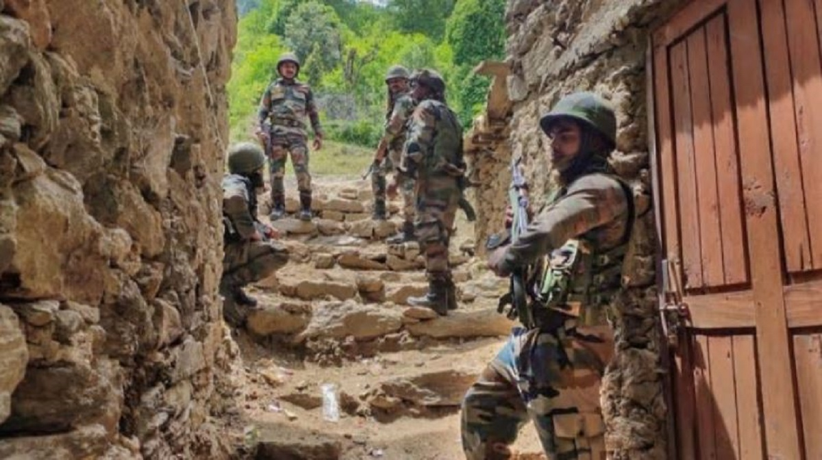 Two terrorists killed in separate encounters with security forces in J&K