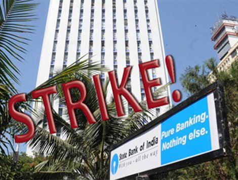 Bank strike on August 22 2017