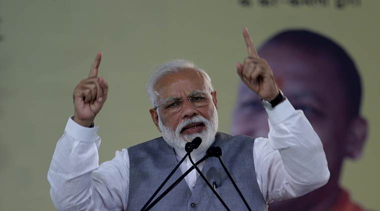 PM Modi attacks Congress, says India's institutions biggest casualty of dynasty politics