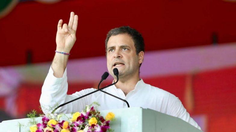 Rahul demands Arun Jaitley
