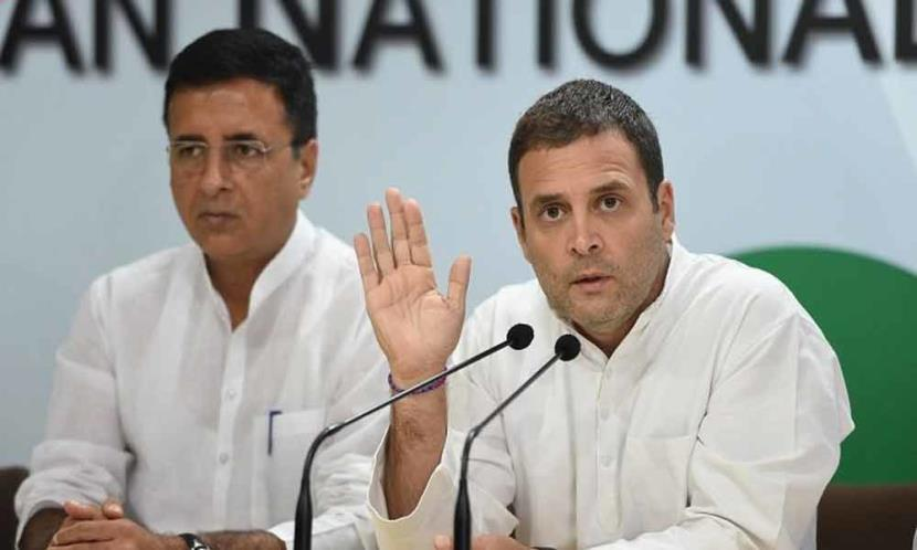 BJP Government cannot build anything: Rahul Gandhi