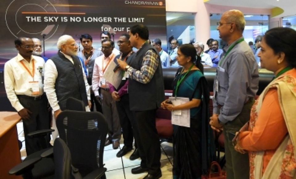 Just 2.1 km short of moon: PM Modi revisit comes as boost to ISRO scientists