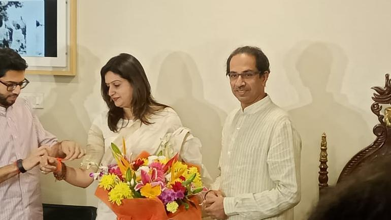 Priyanka Chaturvedi resigns from Congress; joins Shiv Sena