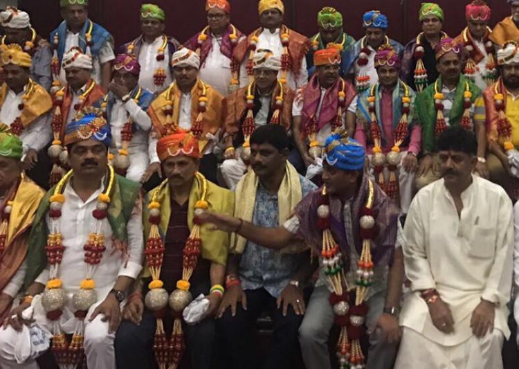 44 Congress MLAs return to Gujarat ahead of RS poll