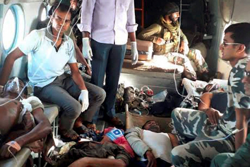 Sukma attack survivor says Maoists were armed with rocket launchers, AK-47s