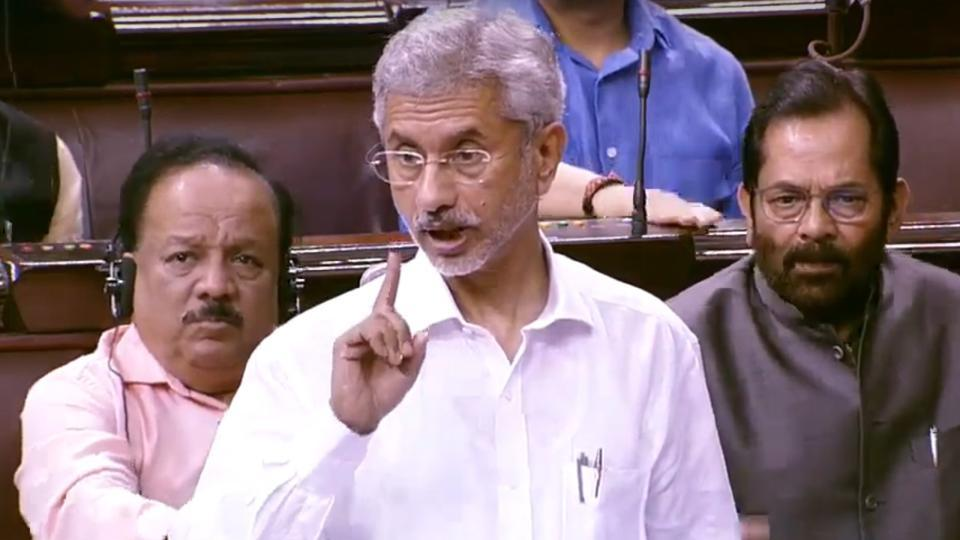 No such request made by PM Modi: Jaishankar on Trump