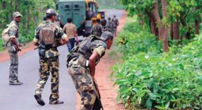 CRPF,Jharkhand Police carry special anti-Maoist operations in Singhbhum,Jharkhand