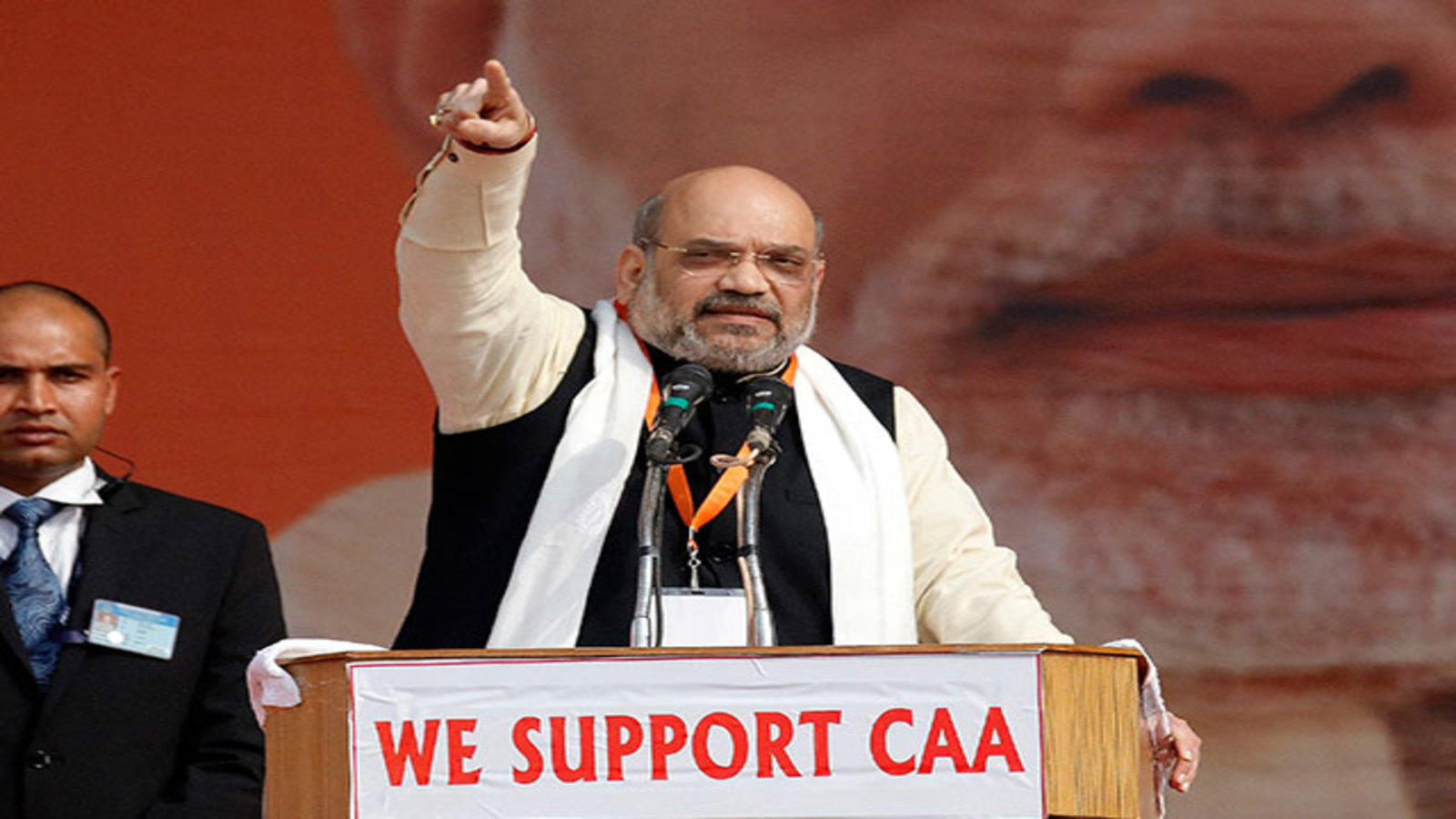 caa-will-not-be-withdrawn-says-amit-shah-in-lucknow