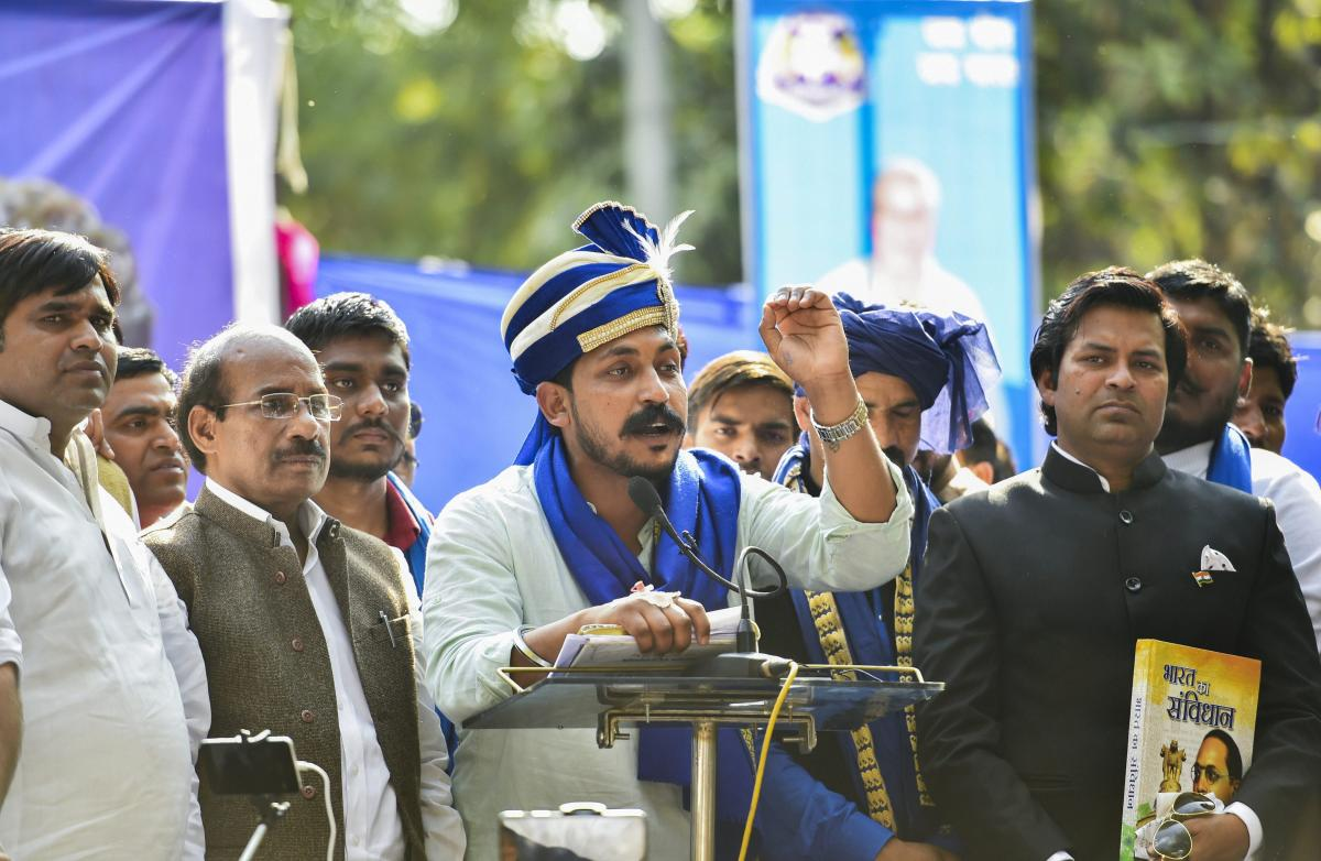 Akhilesh Yadav, Mulayam agents of BJP: Bhim Army chief