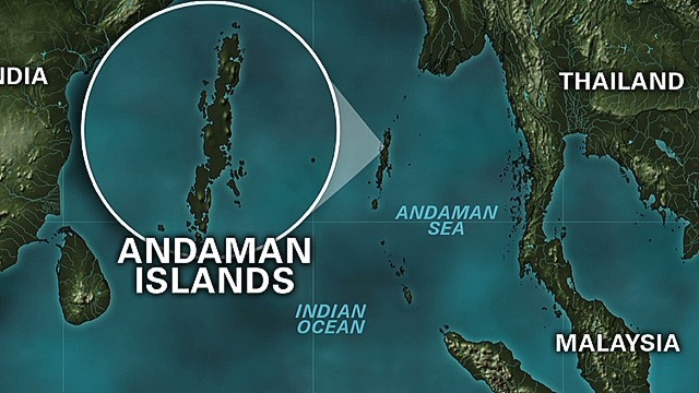 Earthquakes reported in Nicobar Island