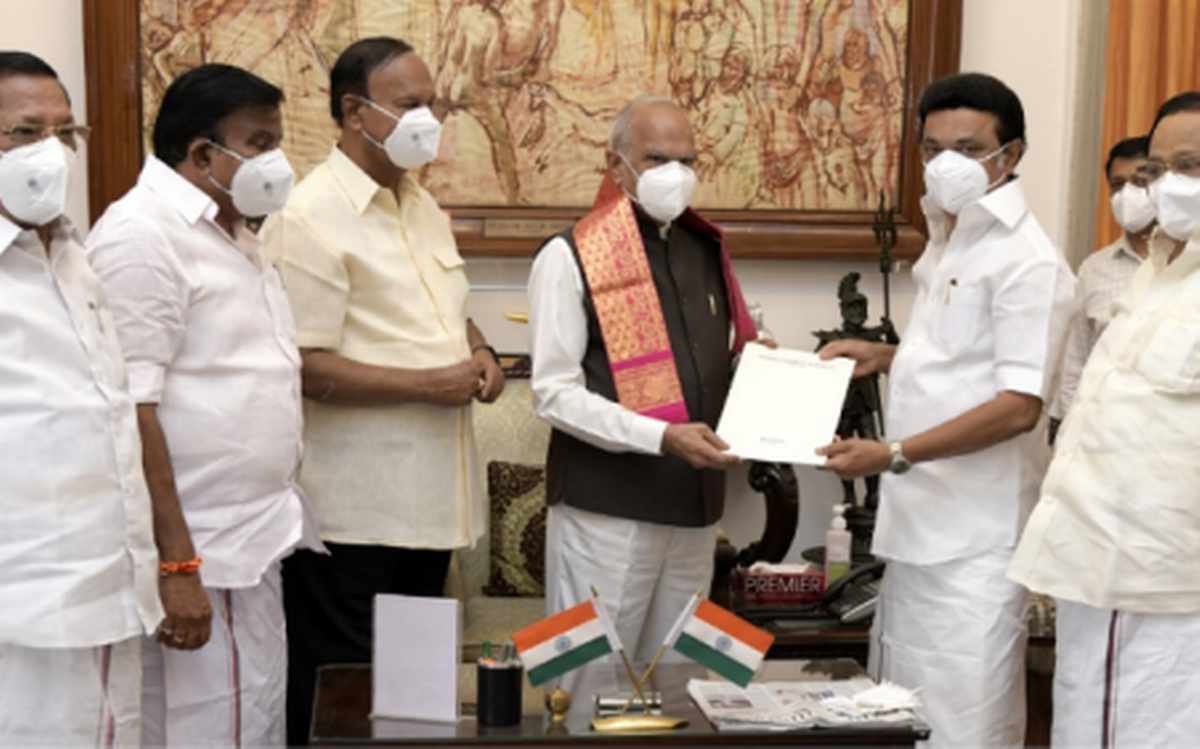 M K Stalin sworn in as Chief Minister of Tamil Nadu