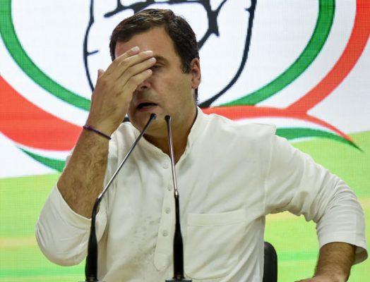 I take 100pc responsibility for Congress defeat: Rahul Gandhi