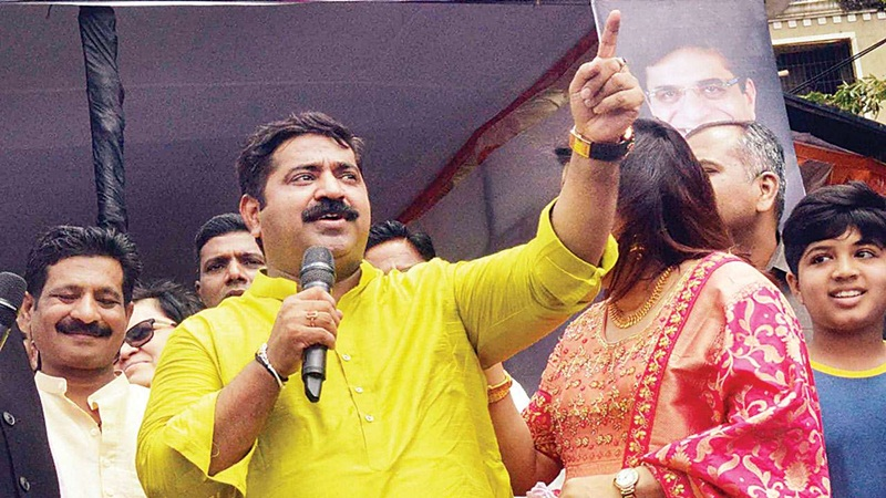 Maharashtra womens commission notice to BJP MLA Ram Kadam for misogynistic remarks