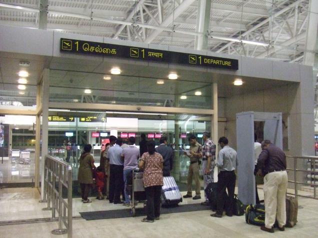 CBI conducts checks at Chennai airport