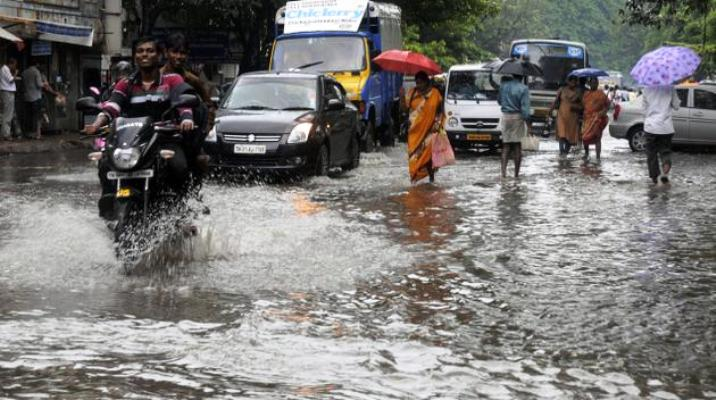 Deep depression over Bay of Bengal triggers heavy rain in TN