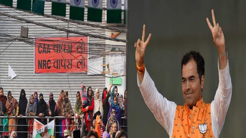 Will remove Shaheen Bagh protesters within one hour if BJP comes to power, says MP Parvesh Verma