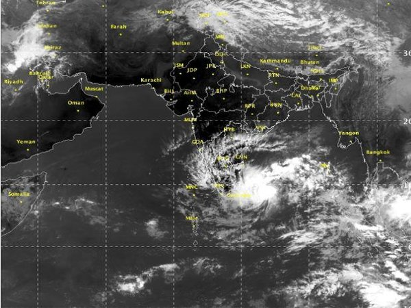 Cyclone Nada Likely To Cross Tamil Nadu Coast