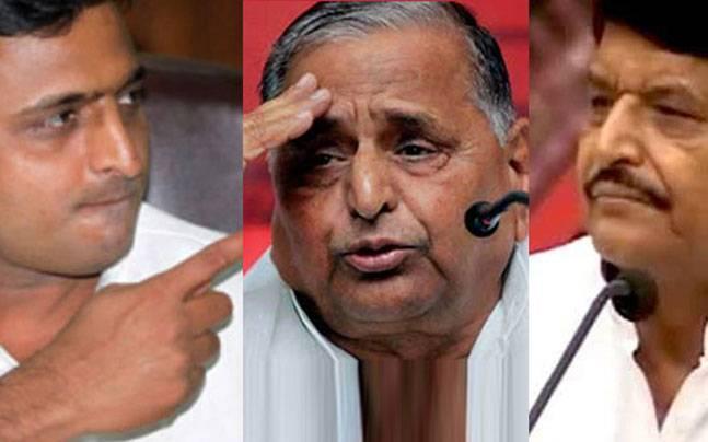 SP feud: Shivpal, Akhilesh flock Mulayam