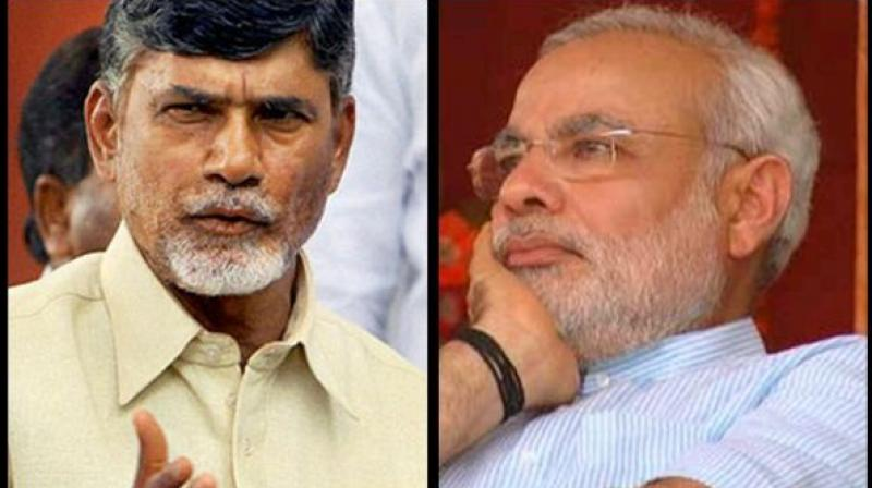 Chandrababu Naidu alleges Centre threatening to impose Prez rule in Andhra Pradesh