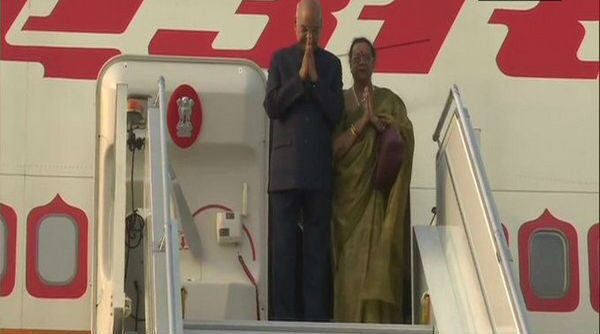 President Ram Nath Kovind leaves on a week-long tour to Philippines, Japan