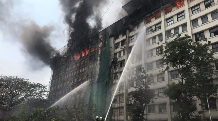 Fire in Mumbai GST Bhavan, no casualties
