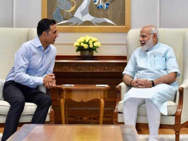 PM Modi praises Akshay
