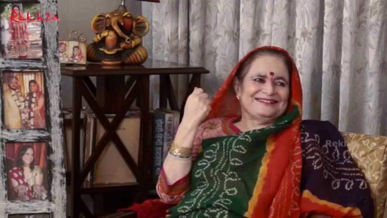 Padma Sachdev gets Saraswati Samman for year 2015