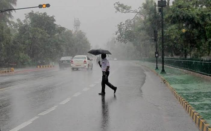 Several parts of north India receive heavy rain