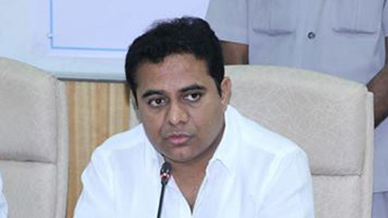 KTR challenges Congress president over Palair by-poll