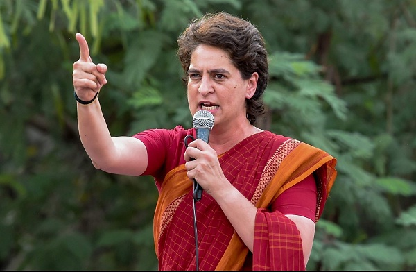 rethink-use-of-evms-priyanka-gandhi-after-video-shows-them-in-bjp-leaders-car-in-assam