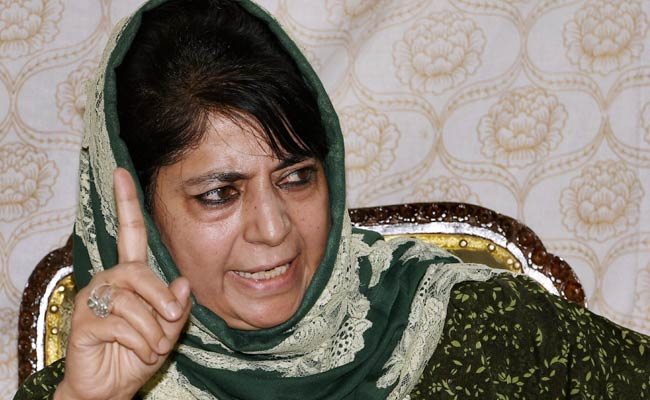 126 local youths joining militancy in 2017: Mehbooba Mufti