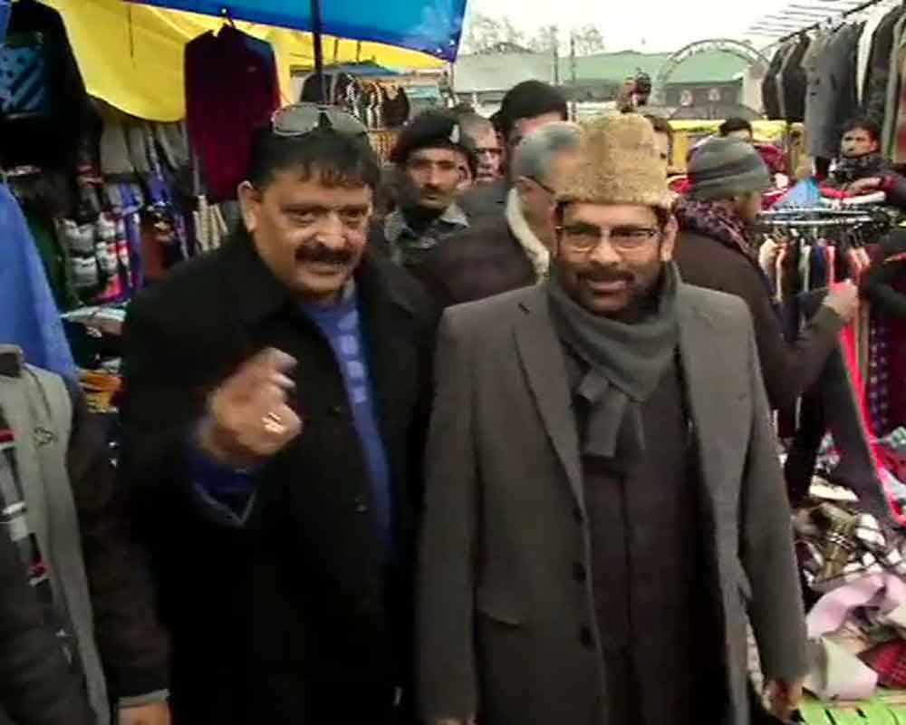 Central ministers in Kashmir to spread positivity among people: Mukhtar Abbas Naqvi