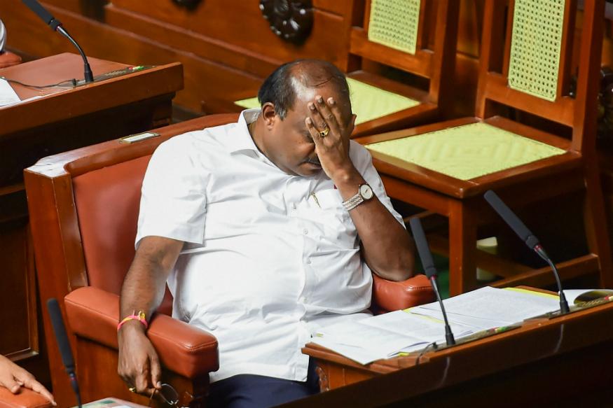Congress-JD(S) coalition govt falls in Karnataka after losing Trust Vote