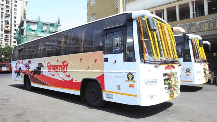 Maharashtra Transport Minister Diwakar Raote launches live tracking system for MSRTC buses