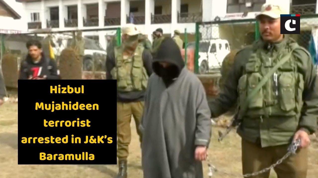 Hizbul Mujahideen terrorist arrested in J&K