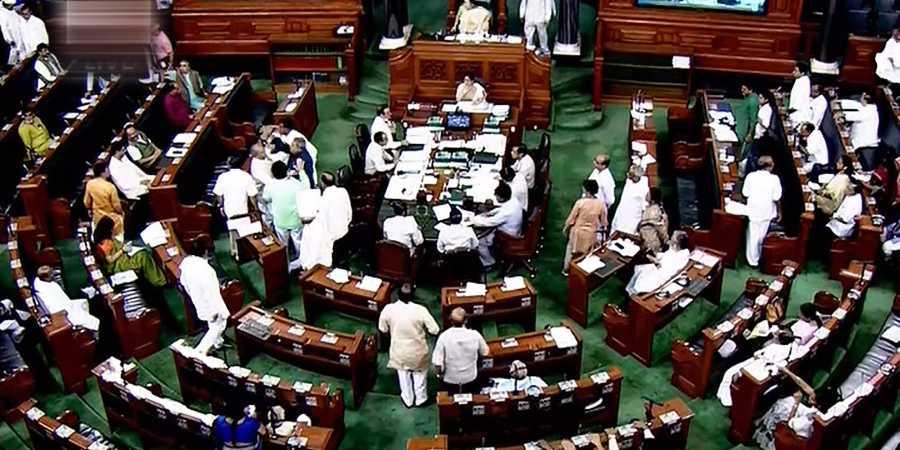 Lok Sabha briefly adjourned over Rafale deal