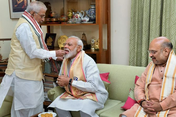 Newly-elected BJP MPs meet today to formally elect PM Modi as their leader