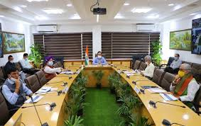 Meeting of high-level Group of Ministers on Covid-19 held in New Delhi