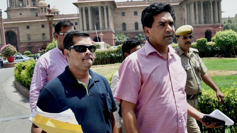 Kapil Mishra another expose: Delhi businessman funded Sanjay Singh, Ashutosh