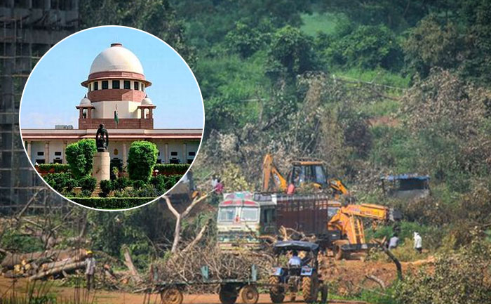 Not stopping construction of Metro shed project in Aarey colony: SC