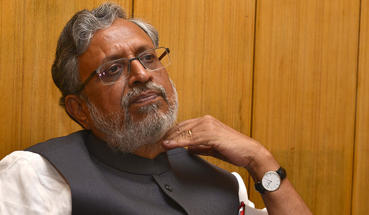 Ex-Bihar Deputy CM Sushil Kumar Modi nominated as BJP candidate for Rajya Sabha bypoll in Bihar