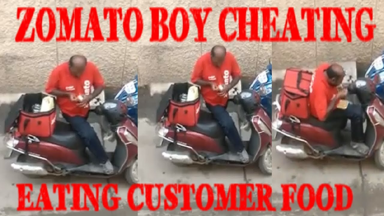 Zomato delivery boy eats order food, seals it back before delivery, video goes viral