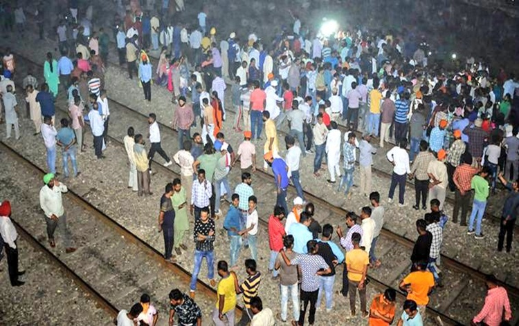 At least 61 killed in train accident near Amritsar