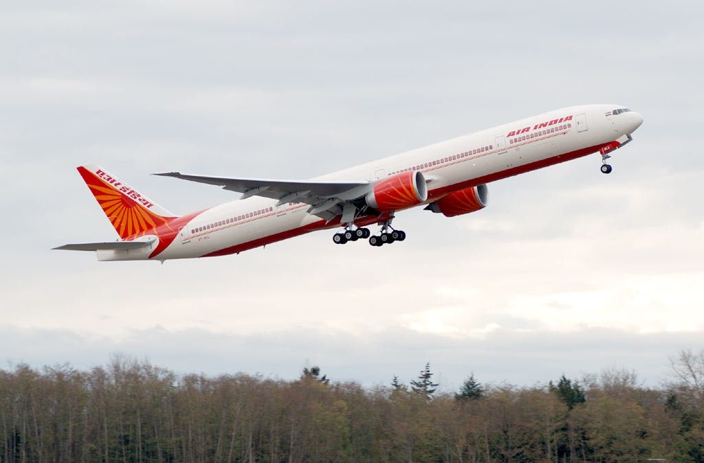 Air India plane hit by air turbulence suffer damages