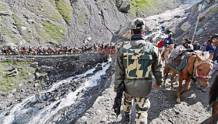 Amarnath Yatra remains suspended from Jammu