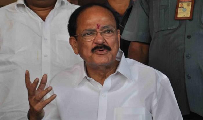Venkaiah Naidu hospitalized