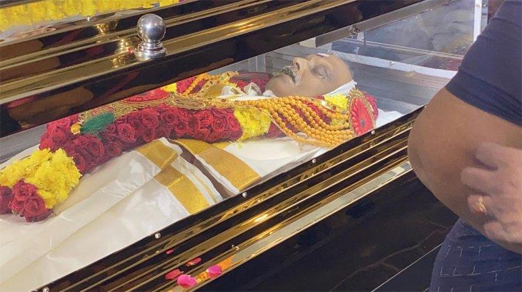 Funeral of legendary singer SP Balasubramanyam to take place near Chennai today