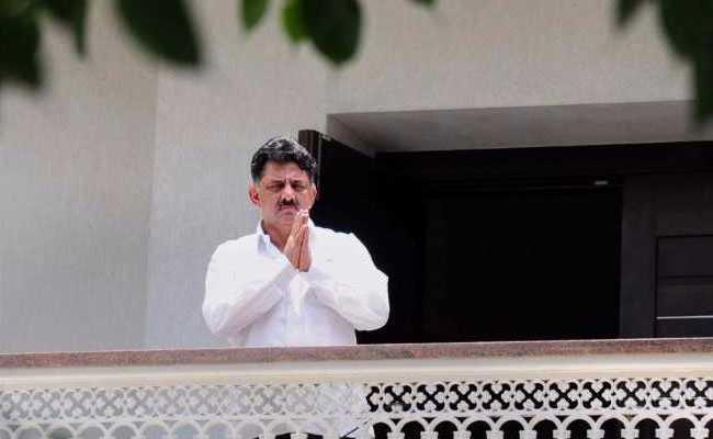 Case Filed Against Karnataka Minister DK Shivakumar For Money Laundering